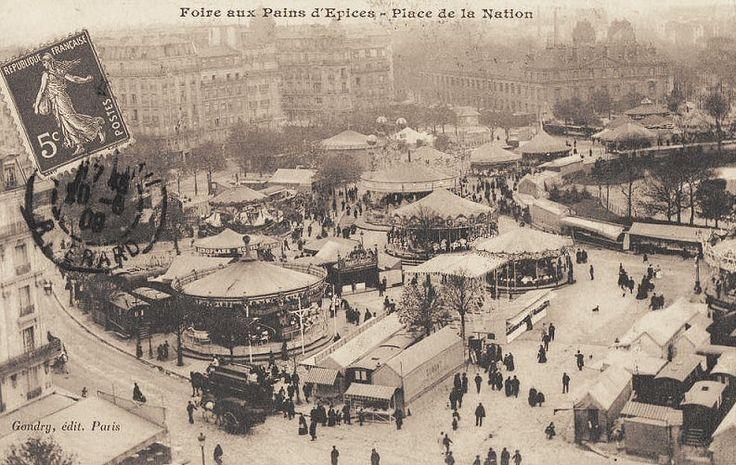 Les 280 meilleures images du tableau 12 vieux paris sur pinterest photos anciennes banlieue - Place foire de paris ...