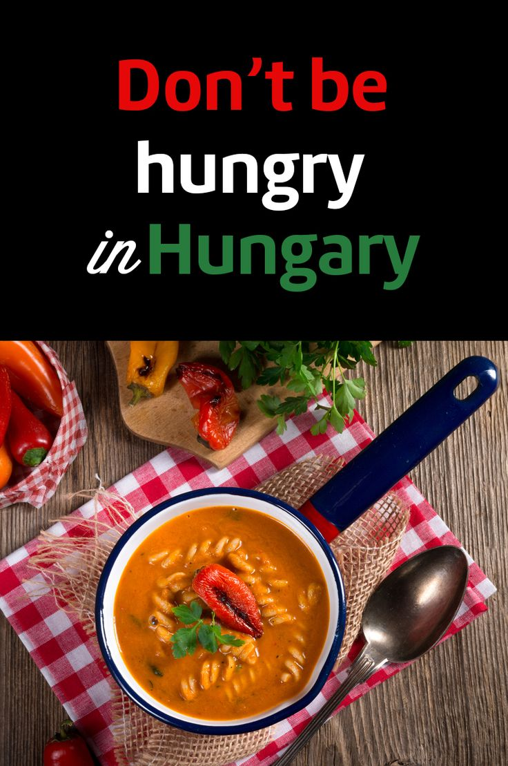 Budapest and the mouthwatering Hungarian cuisine will appeal to all foodies! See what meals you must try on your trip to Budapest - not just goulash! :)