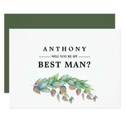 Will you be my Best Man? Custom Invitations - invitations custom unique diy personalize occasions