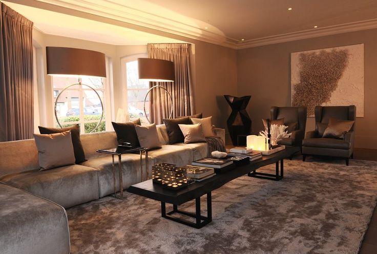 The Netherlands / Private Residence / Living Room / Status Living / Eric Kuster / Metropolitan Luxury