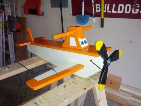 child's airplane swing | Do It Yourself Home Projects from Ana White