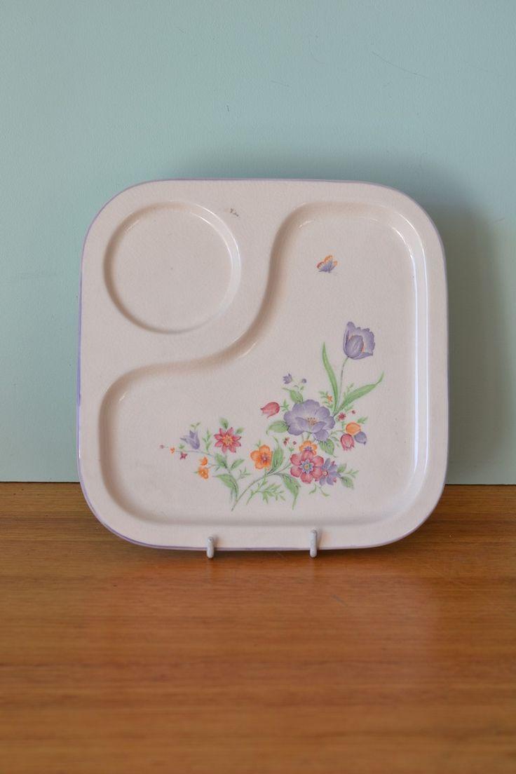 Vintage Nitoen serving tray Japan 3195 - Funky Flamingo