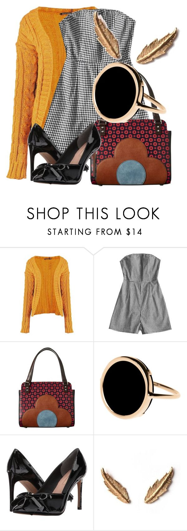"""sailboat"" by honeysuckelle ❤ liked on Polyvore featuring Boohoo, Orla Kiely, Ginette NY, Avec Les Filles, LeiVanKash and jumpsuits"