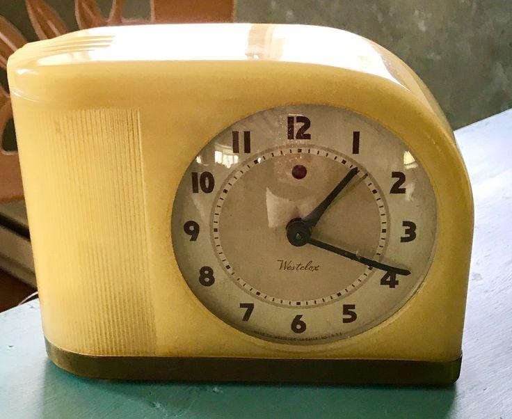 Westclock Midcentury Alarm Clock