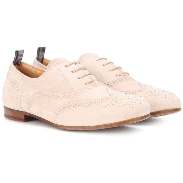 Church's Taylor Suede Oxford Shoes ($470) ❤ liked on Polyvore featuring shoes, oxfords, beige, suede oxfords, christ church oxford, beige suede shoes, church's footwear and beige shoes