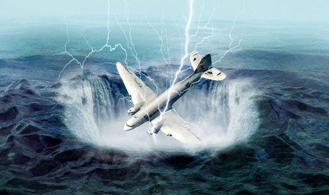 Amerikalı bilim adamları, Miami'nin güneyinde bulunan ve uç kısımları Florida, Bermuda adaları ve Porto Riko'da bulunanBermuda Şeytan Üçgeni olarak adl