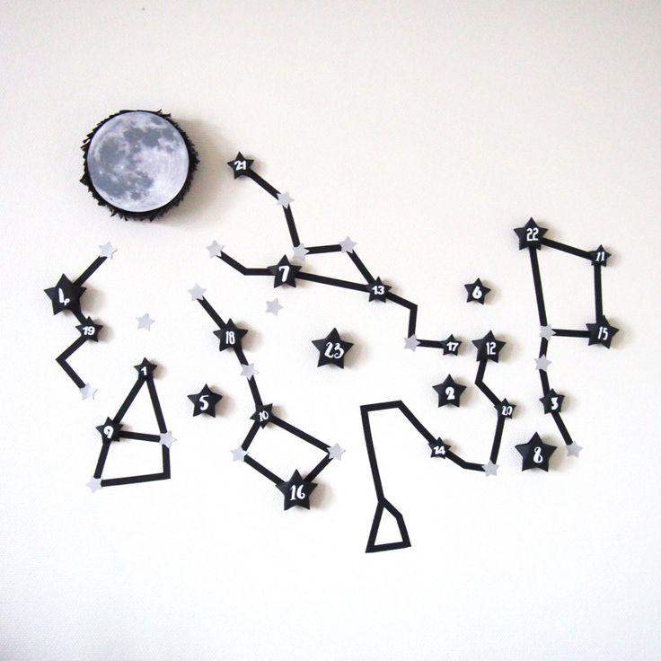 calendrier constellation diy