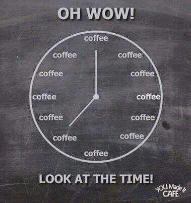 I especially love coffee at night...