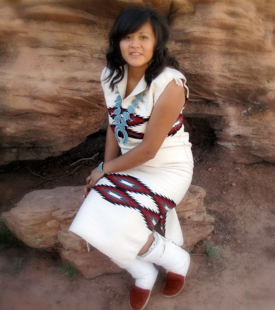 Navajo rug dress. The name is pretty self-explanatory..... I would love to have…