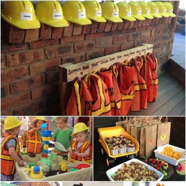 What party theme will your little guy really dig? For a happy two-year-old, try a construction themed birthday party that'll build miles of smiles!