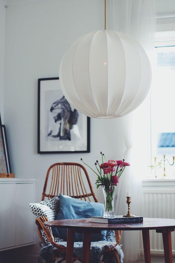 Stor taklampa boll ECO 60 cm via Lampverket unika lampor