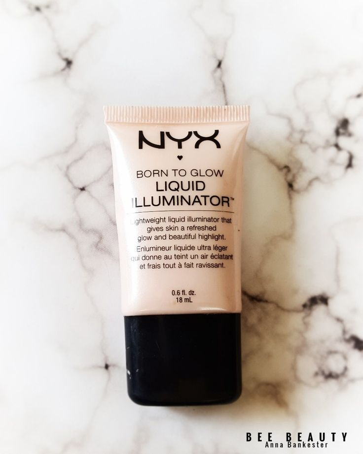 Nyx Born To Glow Liquid Illuminator in Sunbeam
