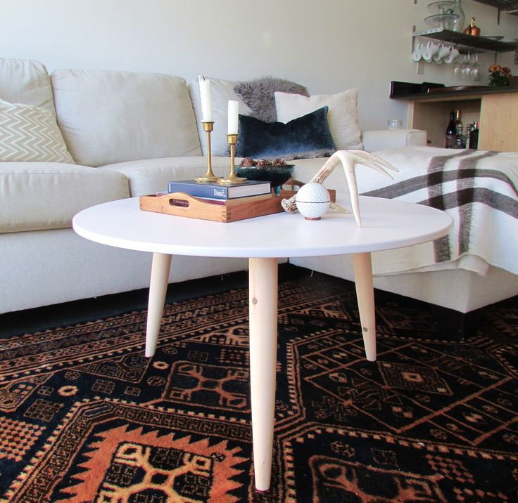 DIY Danish Modern Coffee Table | francoise et moi