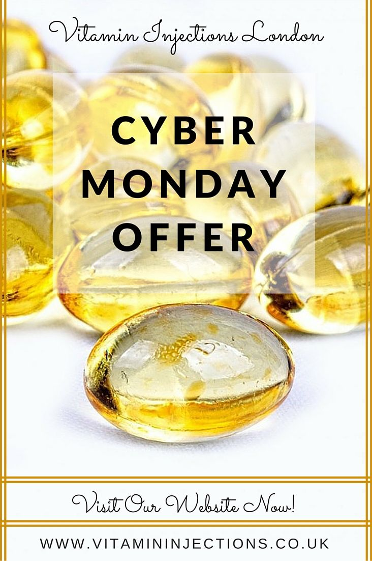 ***Visit www.vitamininjections.co.uk and claim your amazing discount on Vitamin Injections in #London UK!*** #CyberMonday #IVTherapy #November #Offer #HealthyLiving @vitaminivlondon