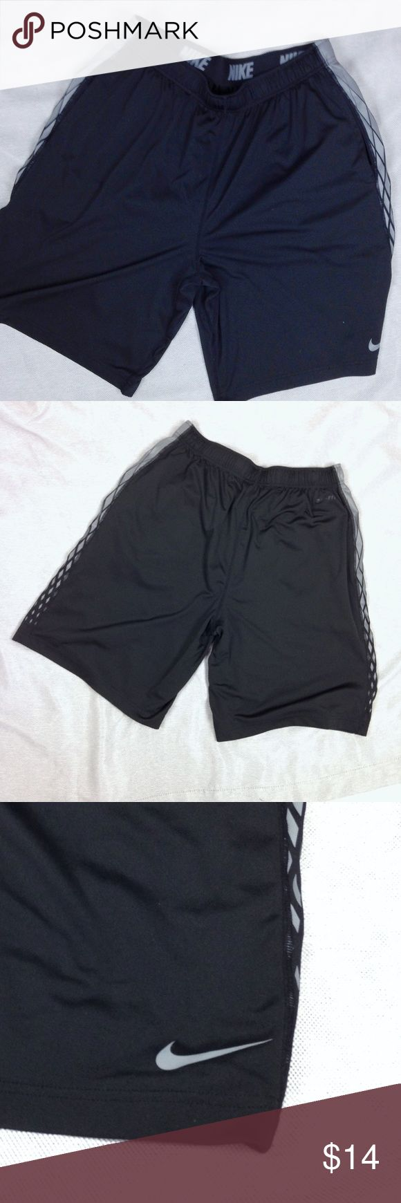 Men's NIKE Basketball Shorts Large-Black Nike Basketball Shorts  Men's Size Large  Black  Inside tie waist  100% polyester   Excellent preowned condition  Smoke free, dog loving home Nike Shorts Athletic http://feedproxy.google.com/fashionshoes11
