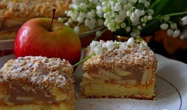 Vídeňský  jablkový  koláč