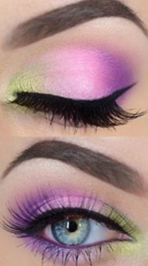 Tutorial: Bright Eye Makeup - Click the image for the Tutorial!