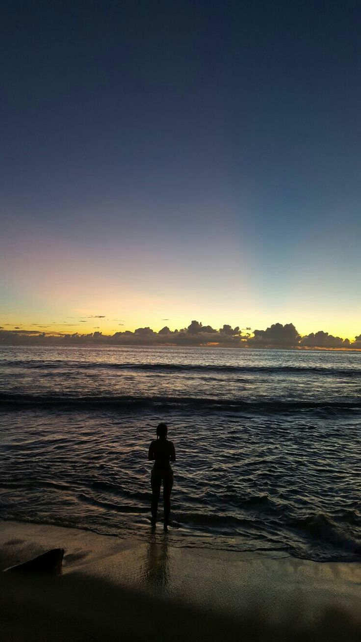 Seychellen Sonnenuntergang