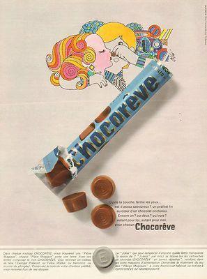 Chocorêves (bouchées de chocolat fourrées au pralin)