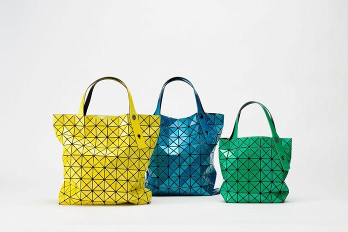 Yellow BAO BAO Issey Miyake bag