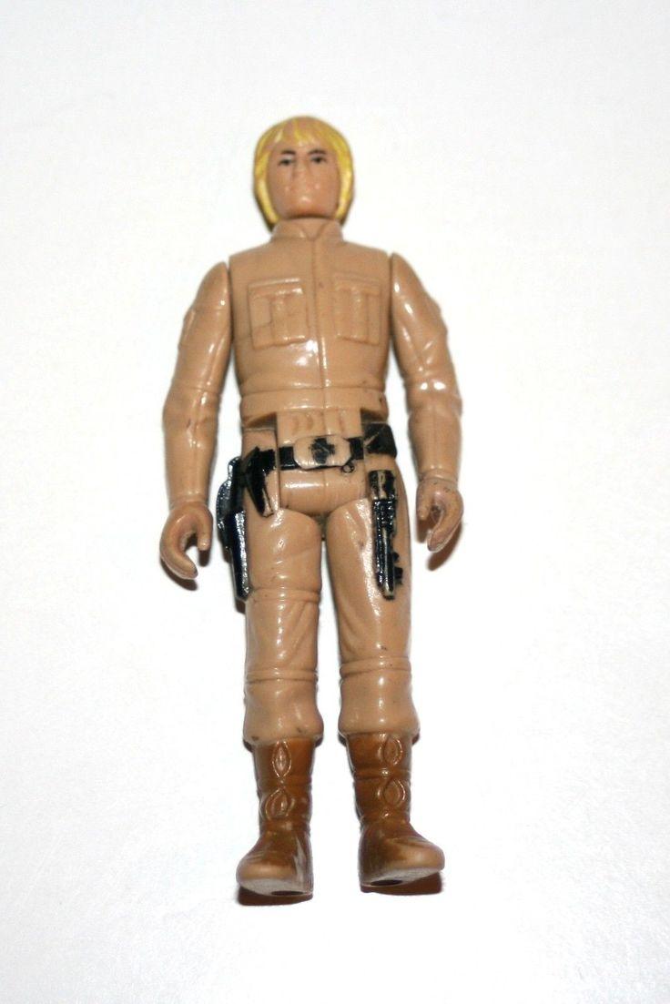 """Vintage Kenner 1980 Luke Skywalker Bespin Star Wars 3+3/4"""" Action Figure"""