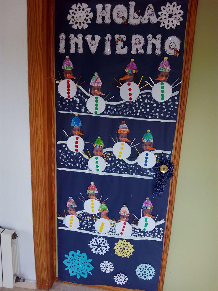 17 mejores ideas sobre decoraciones de puertas de escuela for Puertas escolares decoradas