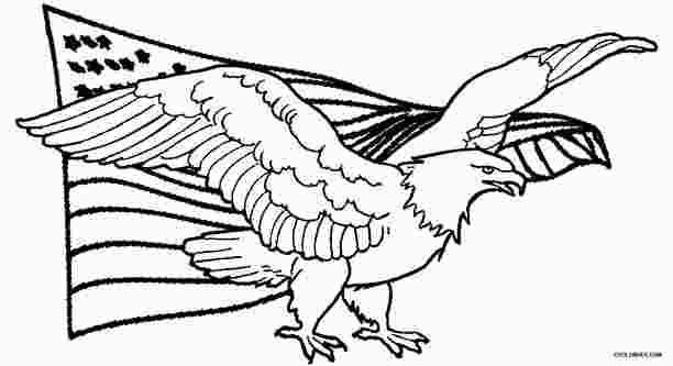 American Eagle Coloring Page Bird Coloring Pages Coloring Pages