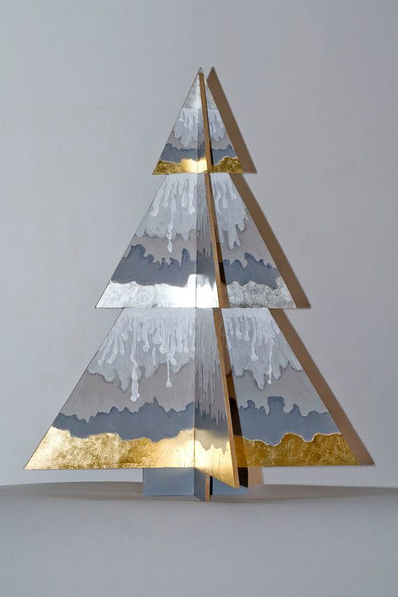 Artistic Christmas tree by ValtaKunta on Etsy