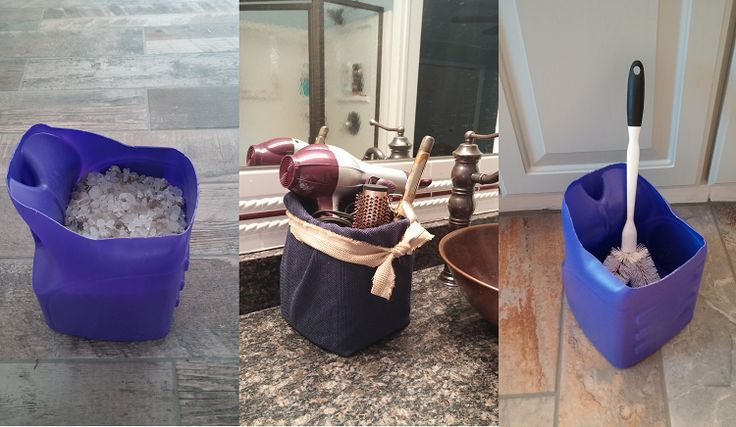 Clever Ways to Reuse and Recycle Detergent Bottles