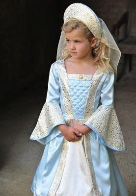Tudor Girl - Childrens & Baby Fancy Dress - Fudge Kids UK