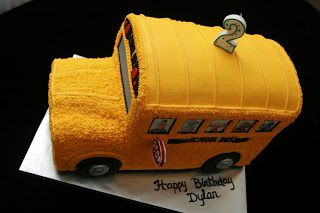 The Cake Artist: School Bus Cake