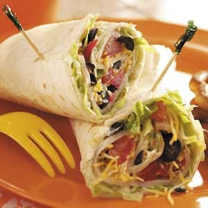 Sandwich Wrap With Wheat Berry Spread Recipe — Dishmaps