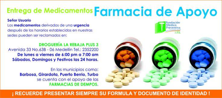 FARMACIAS DE APOYO