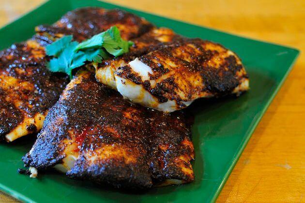 Grilled Halibut Fish Tacos