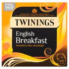 Twinings English Breakfast 100 Teabags 250G - Groceries - Tesco Groceries