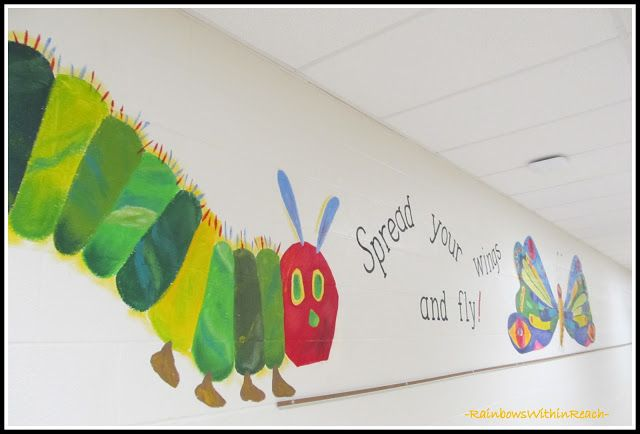 1000 ideas about school murals on pinterest leader in for Eric carle mural