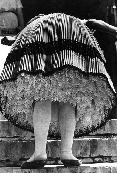Pleats and petticoat - Hungary