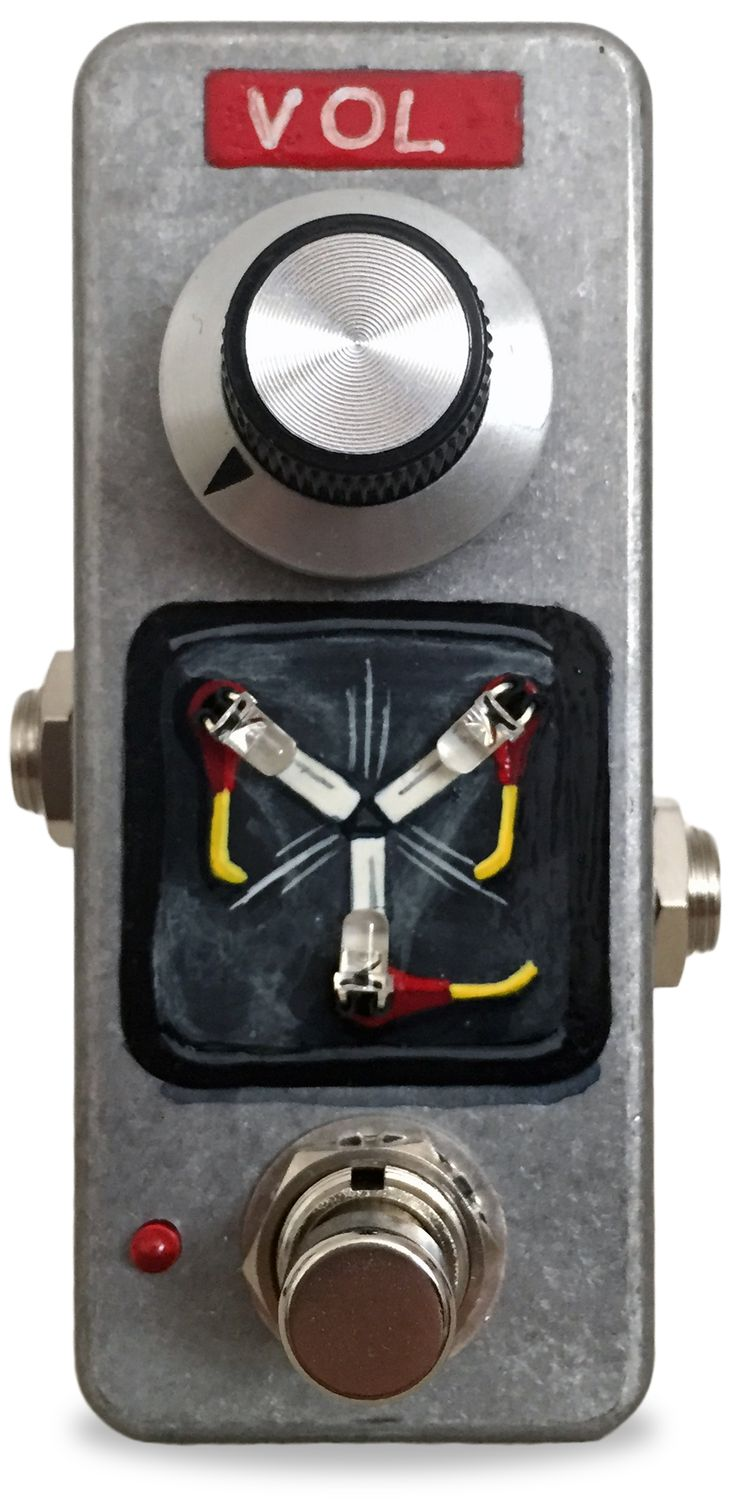 hight resolution of mm effects fuzz capacitor