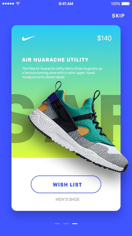 Nike In-App Promotions