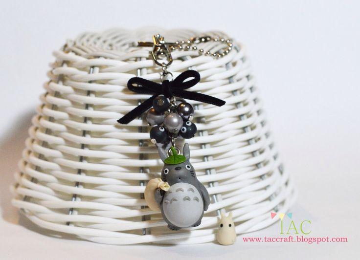 Totoro bag charm