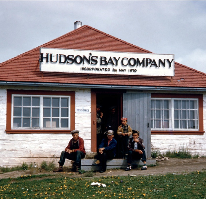 A Hudson's Bay Company Outpost