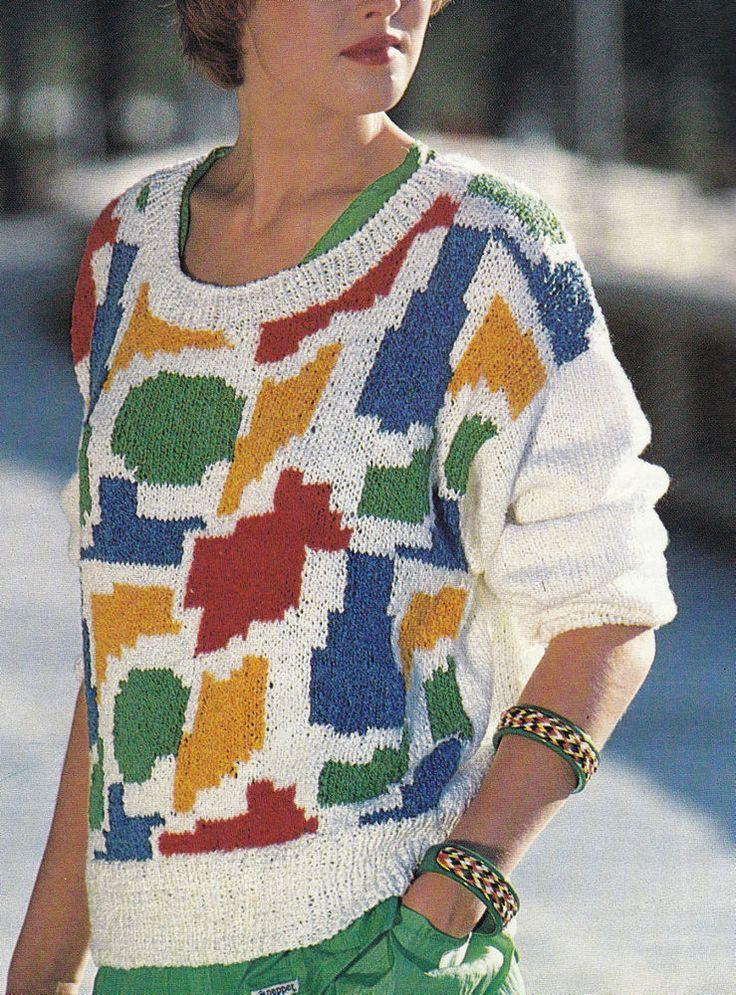 Knitting Intarsia : Best knitting patterns fair isle intarsia multi