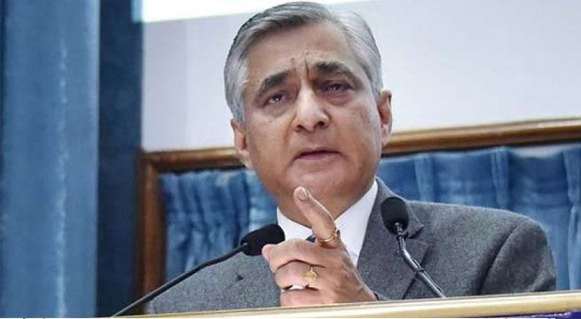 Amid the judiciary-government tussle, Chief Justice of India T S Thakur on Friday asserted the process of appointment of judges cannot be