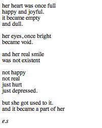 poems about depression | depression poems tumblr