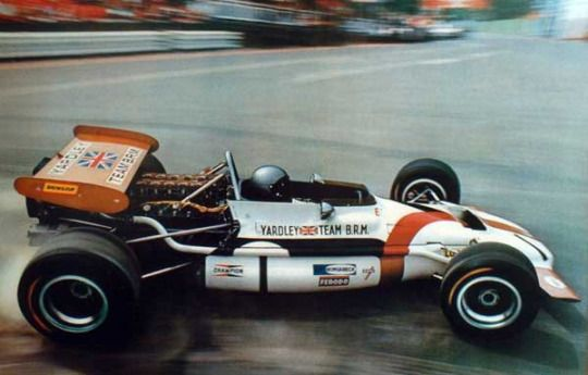 BRM P153. Driven by Pedro Rodriguez,1970.