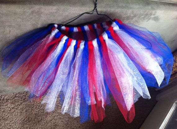 Red, White and Blue Tulle Skirt on Etsy, $17.00 | Heart2Home Etsy ...