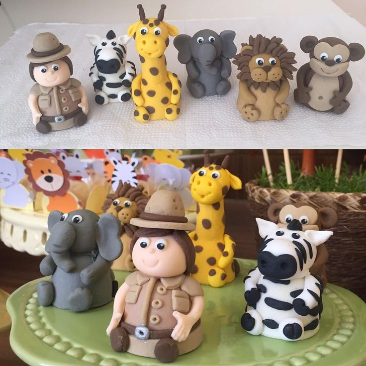 """Trufas modeladas bichos e caçador para festa Safari<span class=""""emoji emoji1f412""""></span><span class=""""emoji emoji1f418""""></span> #benditosbrigadeiros #doces #docespersonalizados ..."""