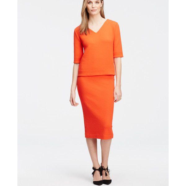 Best 25  Orange pencil skirts ideas only on Pinterest | Orange ...