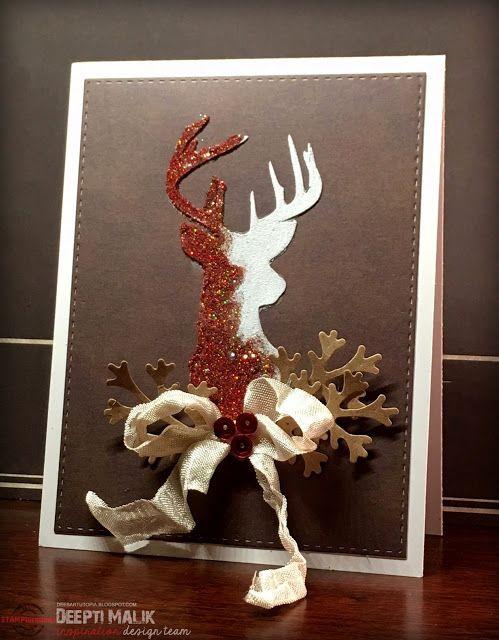 Dee's Art Utopia: ARTplorations Stencil Blog Hop - Day 1 & Christmas Color Revelations - Day 19