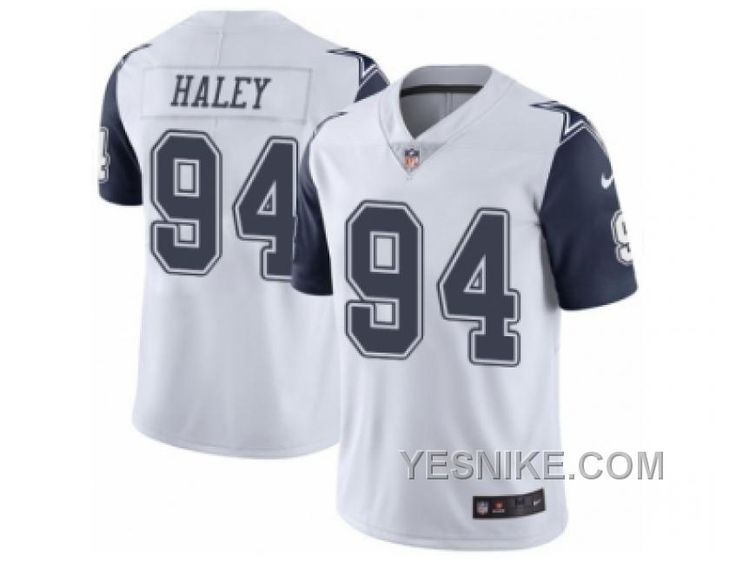http://www.yesnike.com/big-discount-66-off-mens-nike-dallas-cowboys-94-charles-haley-limited-white-rush-nfl-jersey.html BIG DISCOUNT ! 66% OFF ! MEN'S NIKE DALLAS COWBOYS #94 CHARLES HALEY LIMITED WHITE RUSH NFL JERSEY Only $26.00 , Free Shipping!